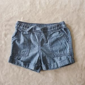 Carter's Blue Denim Cotton Shorts Size 2T